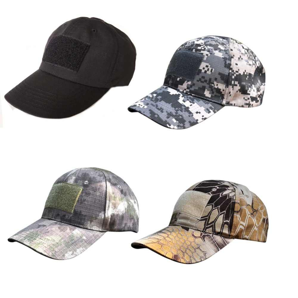 00b1767f4733c ... Camouflage Flag Patch Baseball Cap Hats Multi-pattern Outdoor Sporting  Caps Digital Camo Tactical Nylon ...