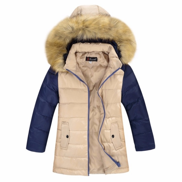 90% White Duck Down Winter Jacket Kids For Boys Outerwear Warm Hooded Thicken Boy Coat Children's Jackets Kids Clothes