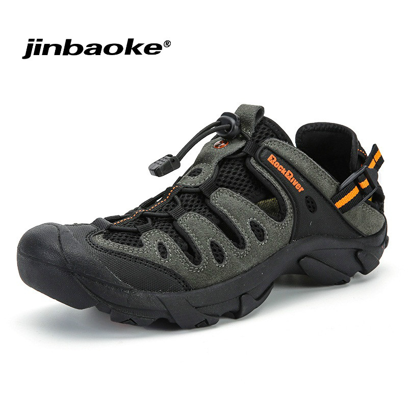 2018 Summer Men Hiking Shoes Outdoor Sandals Sneakers Breathable Sport Shoes Man Big Size Trekking Trail Beach Water Sandals camo summer breathable lightweight outdoor sport aqua water shoes men beach surfing sandals hiking trekking climbing sneakers