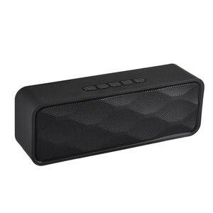 Image 5 - Mini altavoz portátil Bluetooth columna bajo Subwoofer soporte FM Radio AUX USB TF tarjeta HIFI altavoz portátil para computadora iPhone