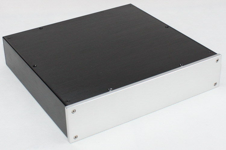 WA79 Aluminum Chassis Enclosure Box Case Shell for Audio Amplifier 310x322x70mm