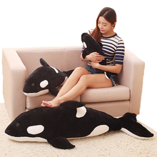 Cute Simulation Killer Whale Plush Toys Animal Childrens Marine Stuffed Birthday Gifts Home Decor