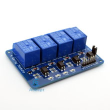 4-Channel Relay Module Shield with Optocoupler for Arduino Raspberry Pi 8051 diy diykit