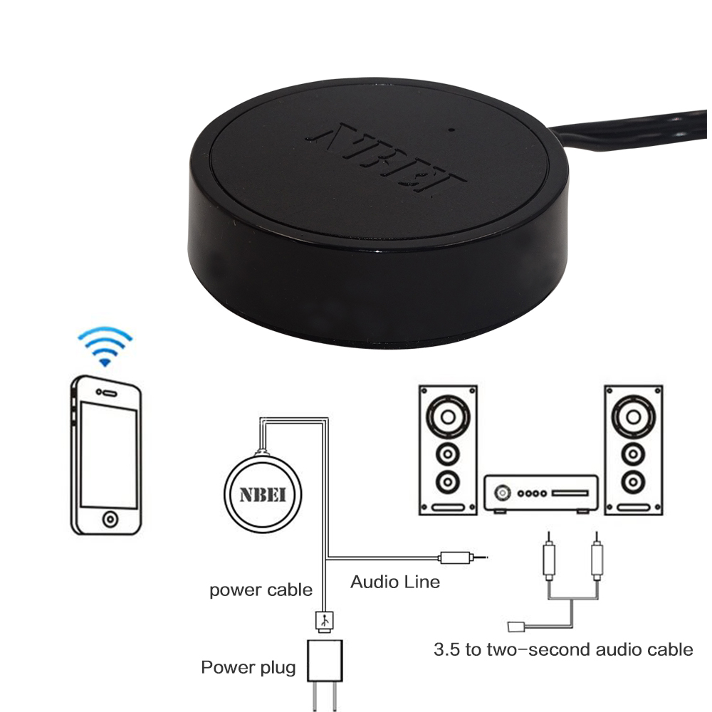 Nbei 02 Bluetooth Receiver Speakers High Fidelity Hifi Loudspeaker Circuit Diagram Wireless Accessories Speaker Transceiver Mini In Adapter From Consumer