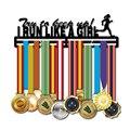 Porte-médaille de Sport | Porte-médaille en métal  pour 30 + de médailles  présentoir de médaille  deux étagères à suspendre  noir mat