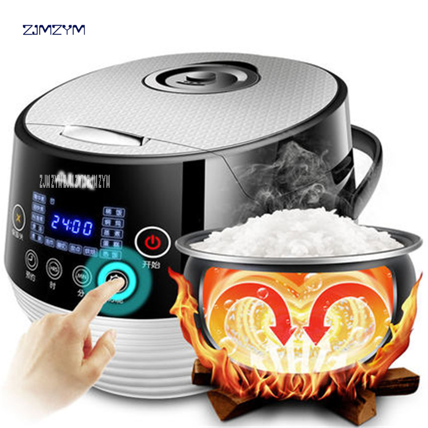 Multi Electric Pressure Cooker Rice Cooker 220V 4L Capacity Intelligent Touch Household Meat Beaf Mutton Cooker Pot WF-Y4002S good rice cooker electric pressure cooker pot temperature sensor magneticsteel lirait temperature device kitchen appliances