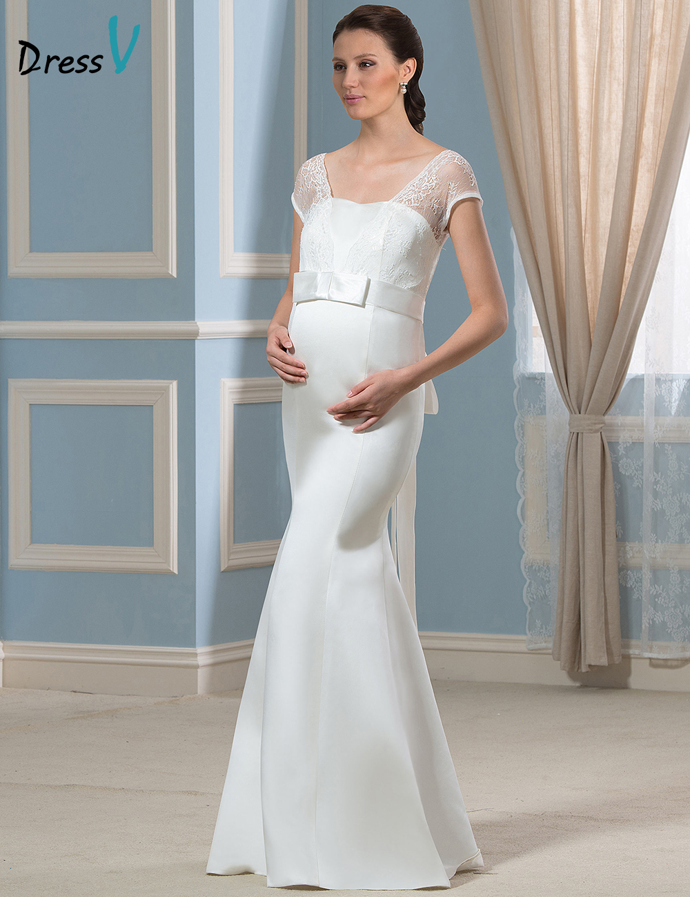 Unique Wedding Dresses Pregnant Brides Frieze - All Wedding Dresses ...