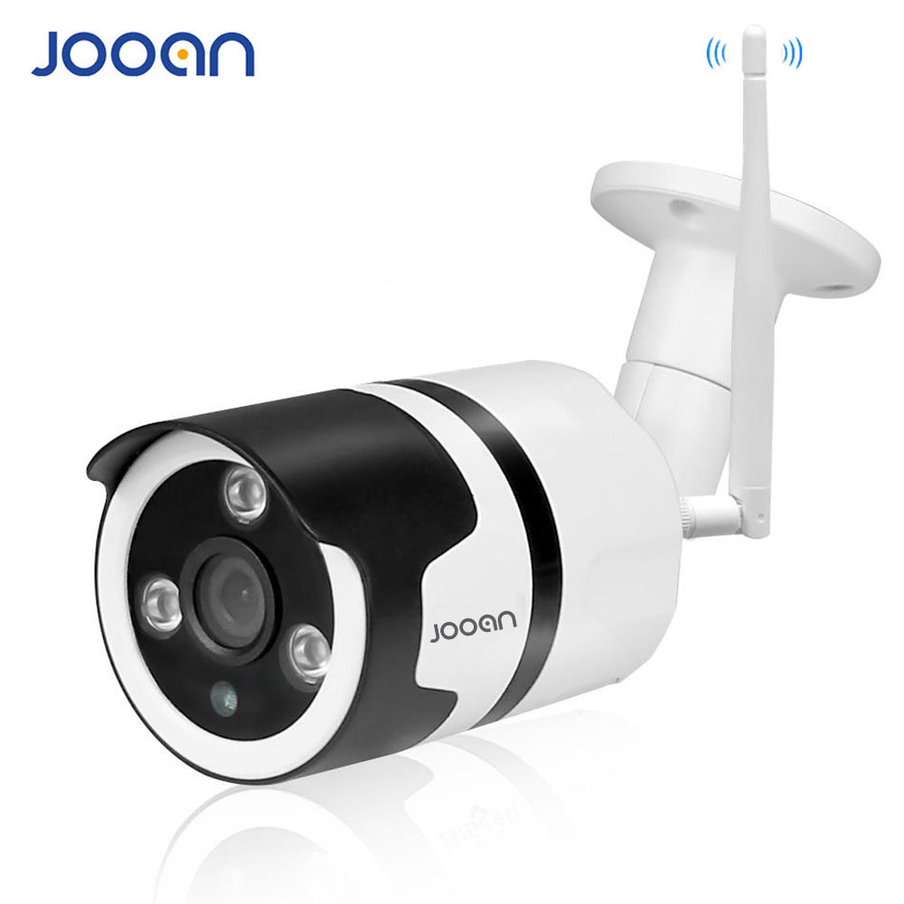 JOOAN Wireless IP Camera Wifi 2.0MP Outdoor Surveillance Camera 1080p Bullet IP Security Camera TF Card Record IP66