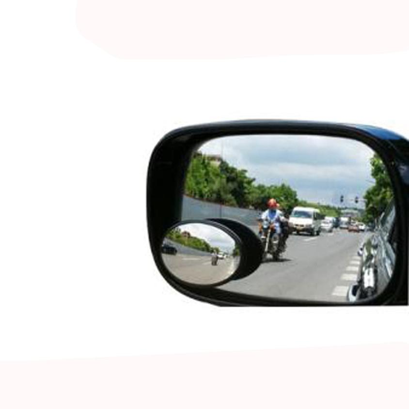 2 Pcs Car Oval Shaped Blind Spot Mirror Wide Angle Convex Mirror For Car Z814 5lower