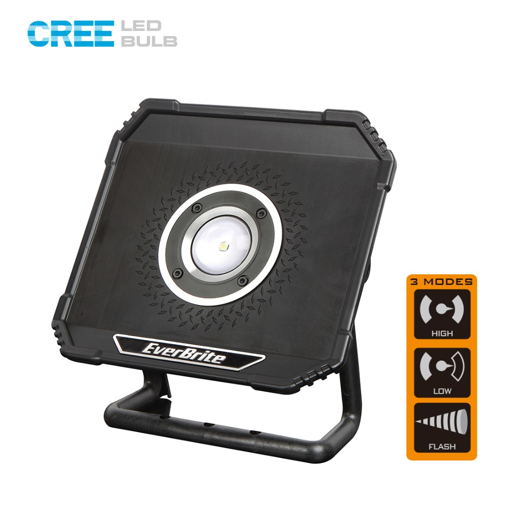 CREE XP-L Waterproof LED Flood Light 800 Lumens Super Bright LED Lamp Camping Light Portable Lawn Lamps