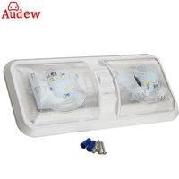 1Pcs Car LED Interior Roof Ceiling Dome Light 12V 48LED Reading Lamp For RV Boat For