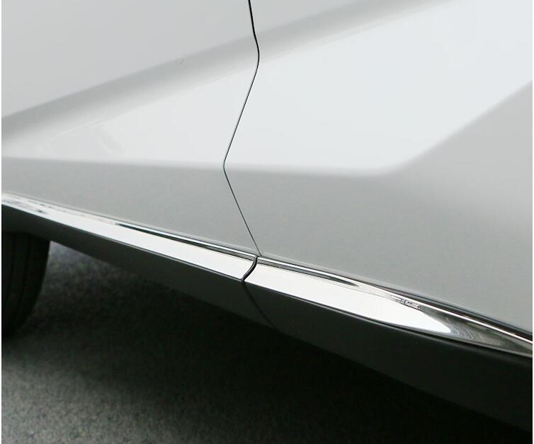 JIOYNG CAR SIDE DOOR BODY PROTECTOR Molding COVER TRIM FOR LEXUS NX NX200T 200 300H 2015 2016 2017 2018 BY EMS chromed abs plastic factory style 4pcs side door molding trim for lexus nx200t nx300h 2015 2016