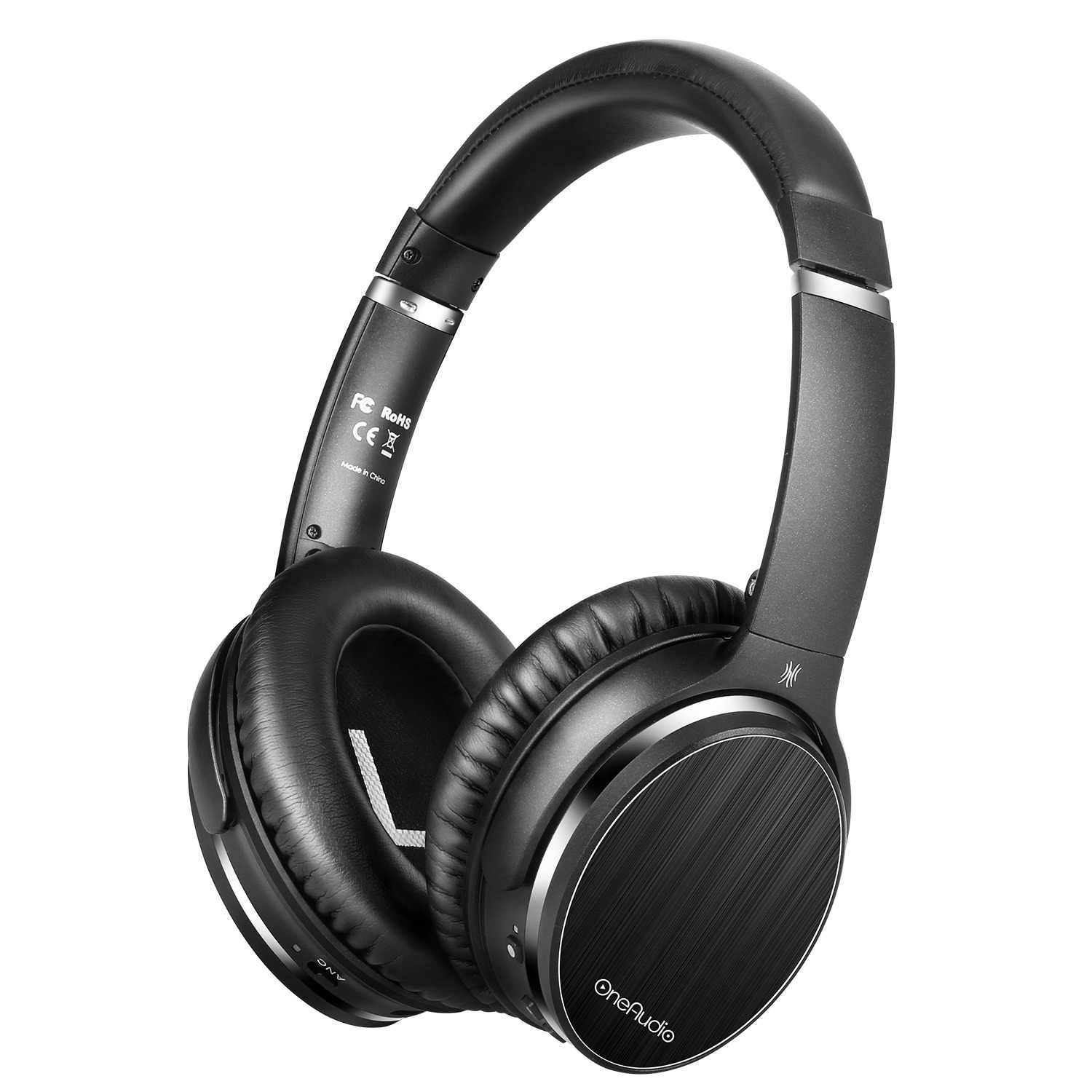 53a5f38cbab OneAudio A3 Active Noise Cancelling Headphones Bluetooth Wireless Hifi Over  Ear Headset Stereo ANC Foldable Headphone