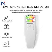 K2 KII Digital EMF Meter Detector Handheld LCD Dosimeter Tester for Electric emf Meter Electromagnetic Field Radiation emf meter electromagnetic radiation detectors handheld digital lcd dosimeter tester for electric field radiation magnetic field