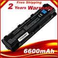 9 cellen 6600 mah laptop batterij VOOR TOSHIBA Satellite C805 C855 C870 C875 L830 L850 L855