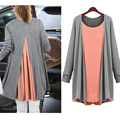 Maternity Dress two pieces Clothes For Pregnant Women pregnancy dress maternity clothing maternity Long sleeve dress Autumn