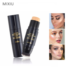 MIXIU Face Makeup Concealer Stick Long-wearing Waterproof Corrector And Brushes Highlighter Cream 4 Colors Concealer Pencil