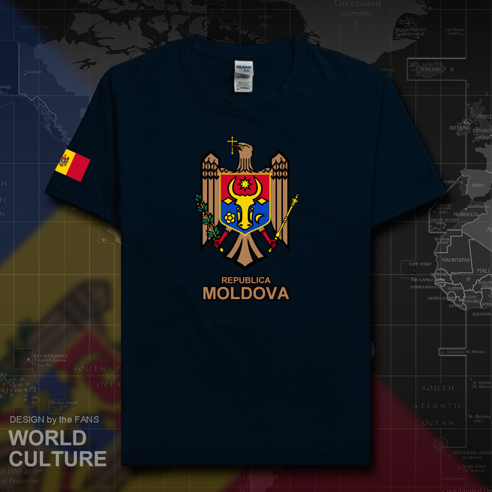 Moldova Moldovan MDA MD Men T Shirt Fashion 2018 Jersey Nation Team 100% Cotton T-shirt Fitness Brand Clothing Tees Summer 20