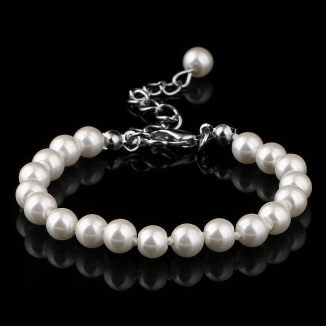 Bracelets Silver Metal 6mm...