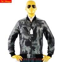 Tiger force winterjas herren parka hombre down parka winter jasje man warm licht gedrukt grijs groen camouflage 17