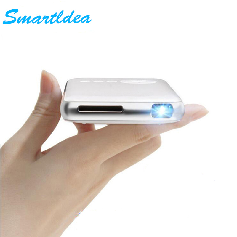 SmartIdea Android 7.1.2 M6Plus 200ANSI Handheld Mini LED Projector WiFi Bluetooth DLP 1080P Beamer Support AirPlay Miracast AC3