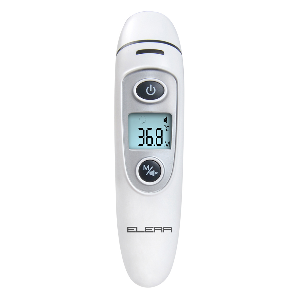 ENVN New Thermometer Infrared Digital IR LCD Baby Forehead and Ear Non Contact Adult Body Fever Care Measurement Termometro in Thermometers from Beauty Health