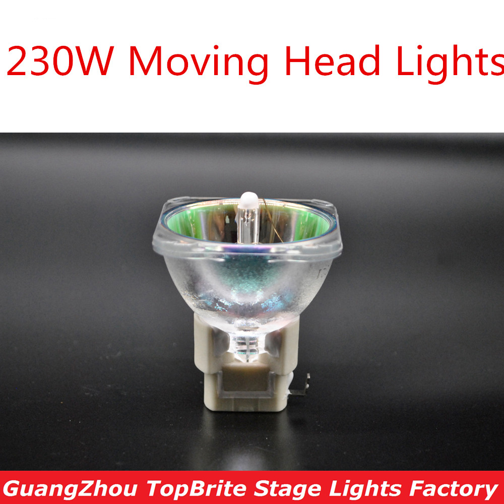 1Pcs/Lot Free Shipping 7R 230W Bulb For Moving Head Lights Scan Lamp Bulb 230W MSD 7R Platinum Metal Halogen Moving Lights jcd 100v 650w cl projection halogen lamp 100v650w enlarger photo photographic bulb free shipping