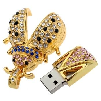 Flash Memory Best Selling Jewelry Usb Flash Drives Storage Devices HOT Usb 2.0 1GB 8GB 16GB 32GB 64GB Usb Pendrive Memory Stick