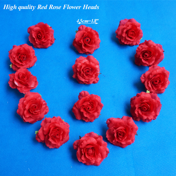 45cm18 40pcspack artificial silk flower red roses head flowers 45cm18 40pcspack artificial silk flower red roses head flowers heads fabric floral supplies wholesale fleurs artificiel in artificial dried flowers mightylinksfo