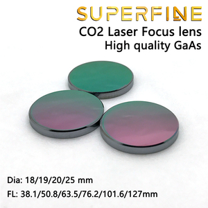 """Image 2 - Objectif de mise au point GaAs super fine Dia. Machine de découpe Laser CO2, 18 19 20 25mm FL 50.8 63.5 101.6mm 1.5 4"""""""