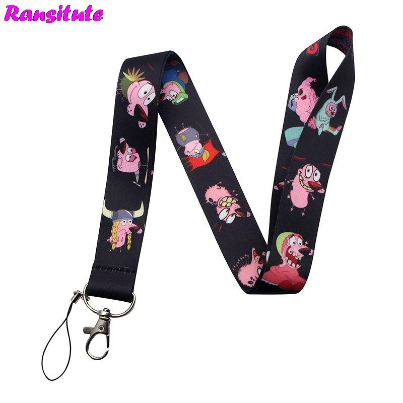 R196 Cute Animal Dog Lanyard Multifunction Mobile Phone Key Strap Rope Lanyard Neckband