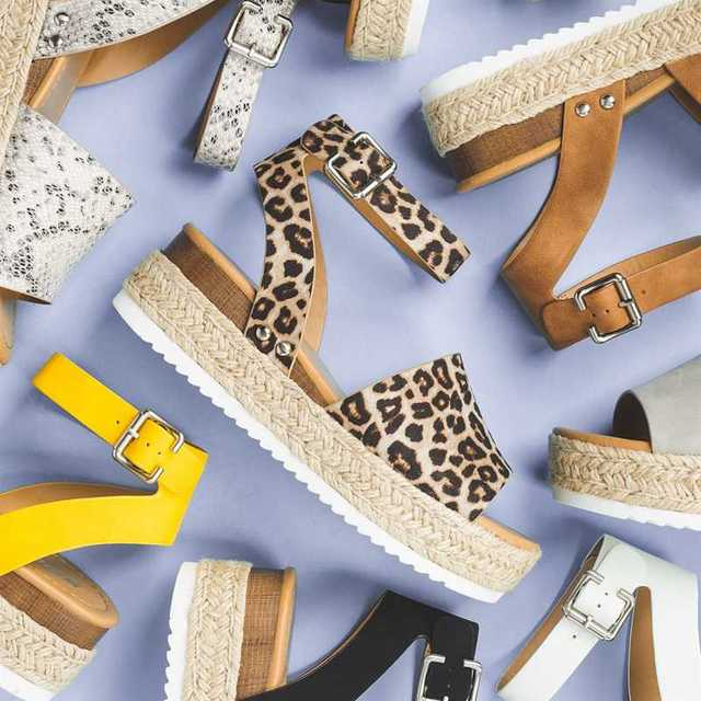 Wedges Shoes For Women High Heels Sandals Summer Shoes 2019 Flip Flop Chaussures Femme Platform Sandals 2019 Plus Size