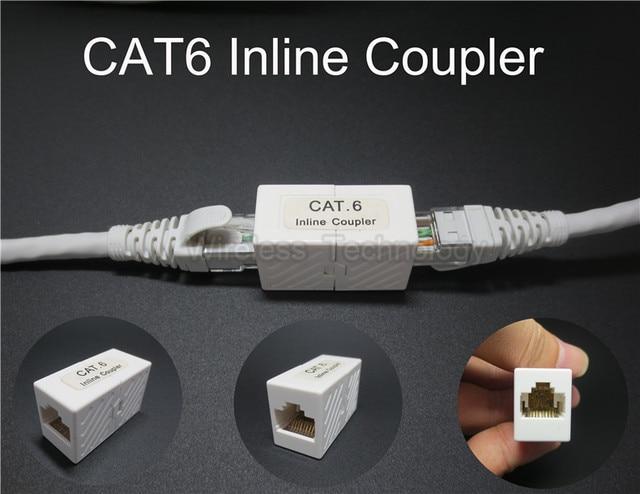 Pcs lot utp rj cat inline coupler keystone