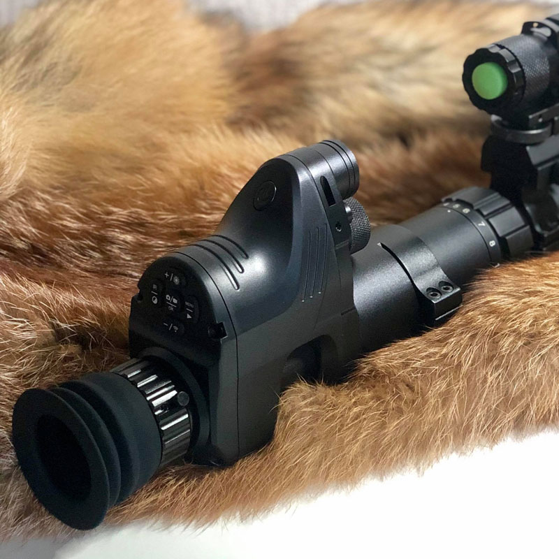 PARD NV007 Night Vision Hunting Scope HD Digital Night Sight Monocular Camera Infrared Night Vision Behind Riflescope