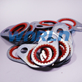 25Pcs Auto Air Conditioning Washer Compressor Gasket Air Condition Sealing Gasket R18  for America  Car Size 48x21.1mm