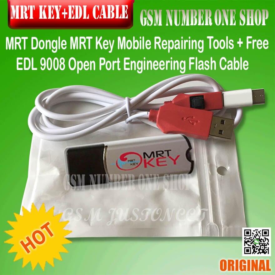 MRT dongle/mrt clé mrt outil + edl 9008 câble ForMeizu OPPO coolpad hongmi déverrouiller Flyme compte ou supprimer mot de passe imei de réparation