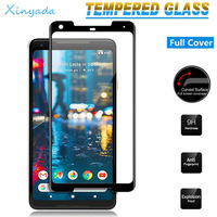 Full Cover Protection Tempered Glass For Google Pixel 2 XL 2 II Screen Protector Lcd Film