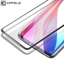 CAFELE Tempered Glass for Xiaomi Mi 9 Mi9 Ultra Thin Full Covered Screen Protector Black Edge HD Clear Film