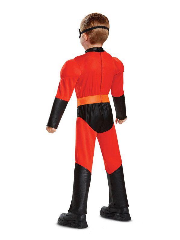 NEW Children's Halloween Costume  Mr. Incredible jumpsuit Costume boys Dash Cosplay Kids Superhero Costume