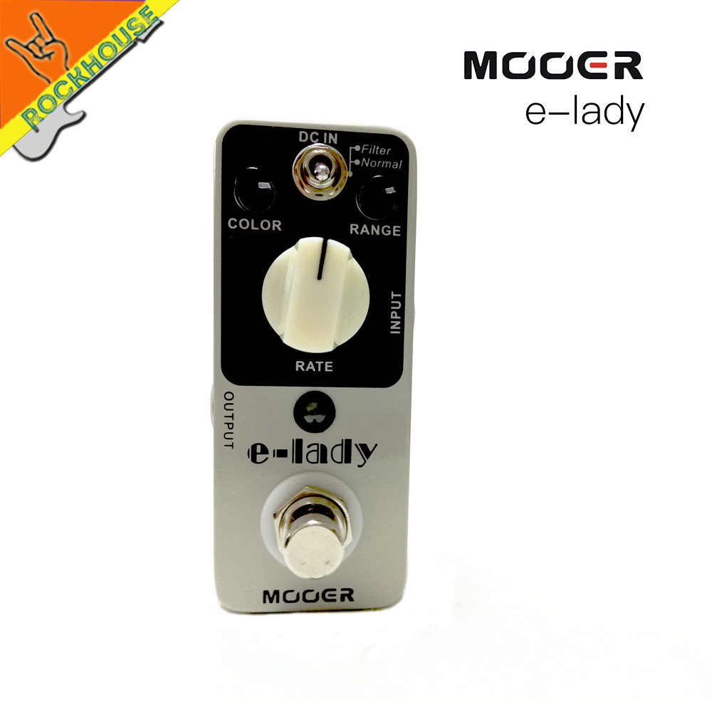 ФОТО MOOER eleclady vintage flagner guitar effect pedal sound with filter mode and oscillator flanger effect pedal free shipping