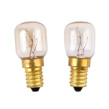 E14 220 V-240 V 15 W/25 W Высокая температура 300 градусов Цельсия печь тостер/Паровой светильник лампочки вытяжка лампы для микроволновой печи лампы