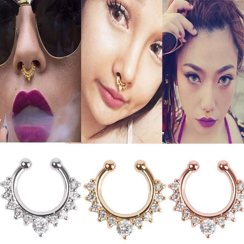 Jewelry Watches Body Piercing Jewelry 1pc Non Piercing Print