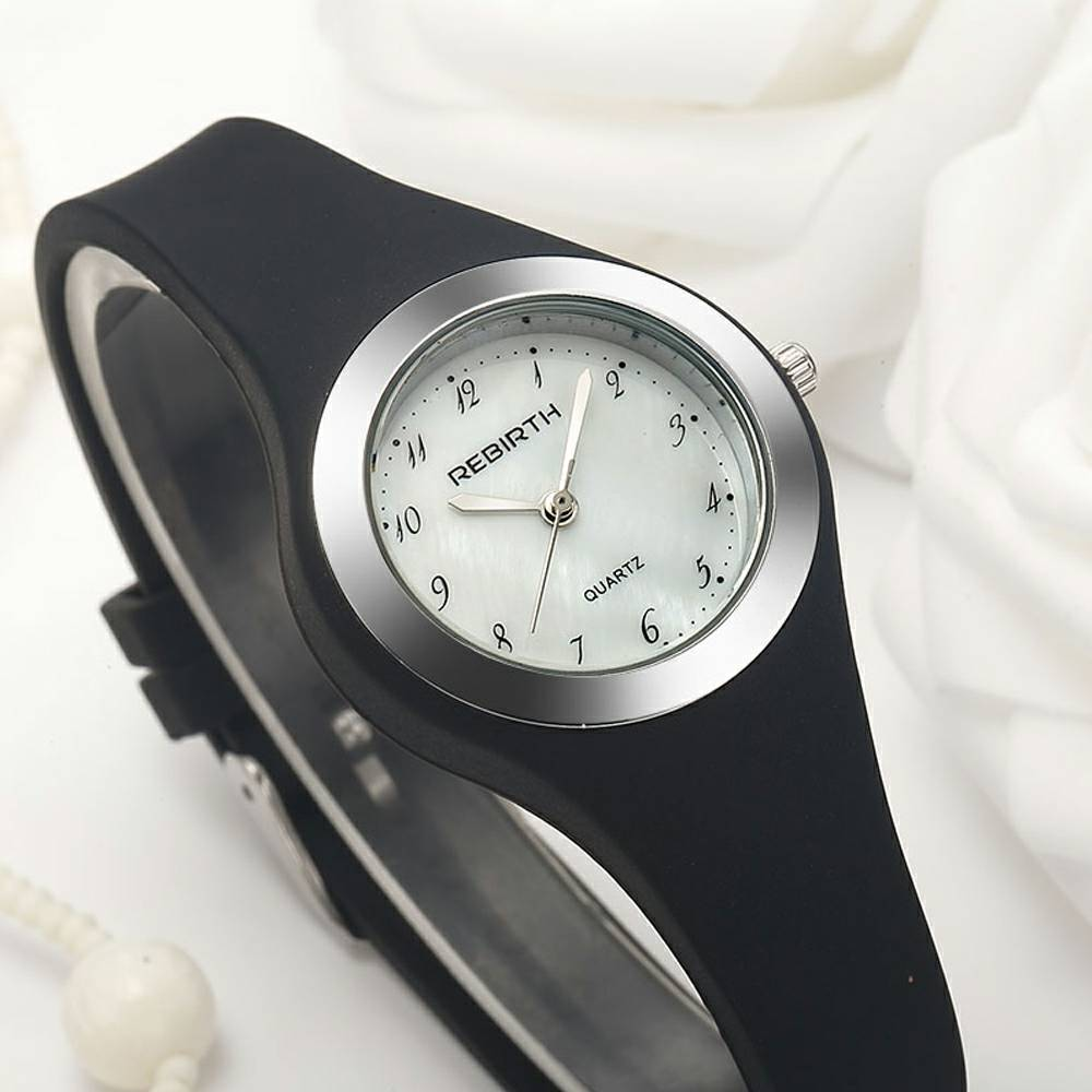 Simple Women Watch Fashion Casual Ladies Waterproof Sport Clock Top Brand Small Dial Silicone Band Wristwatch Gifts
