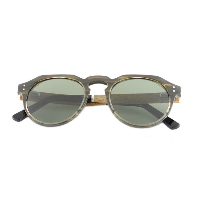 Unisex Designer Style Wooden Sunglasses