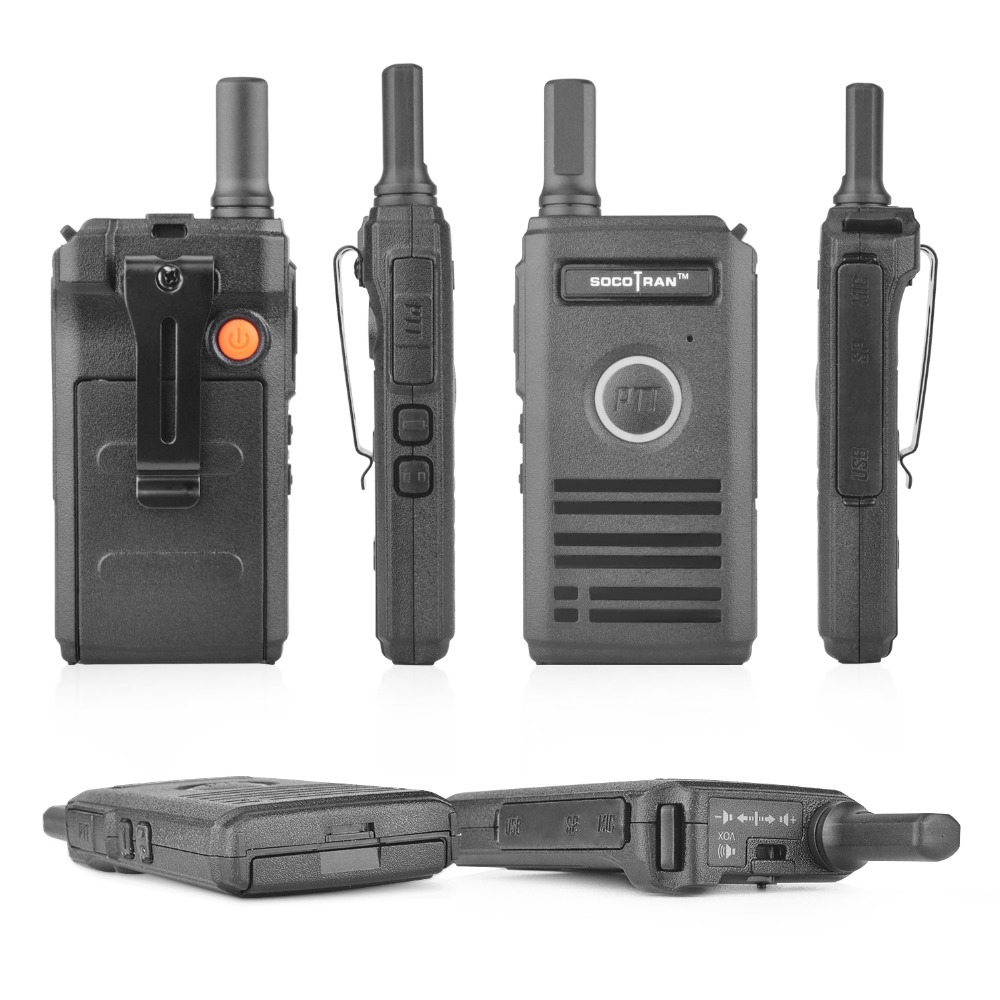 Image 3 - Ship from RU SOCOTRAN SC 600 UHF mini walkie talkie Amateur Radio 400 470MHz Ultra slim two way radio double PTT breathing light-in Walkie Talkie from Cellphones & Telecommunications