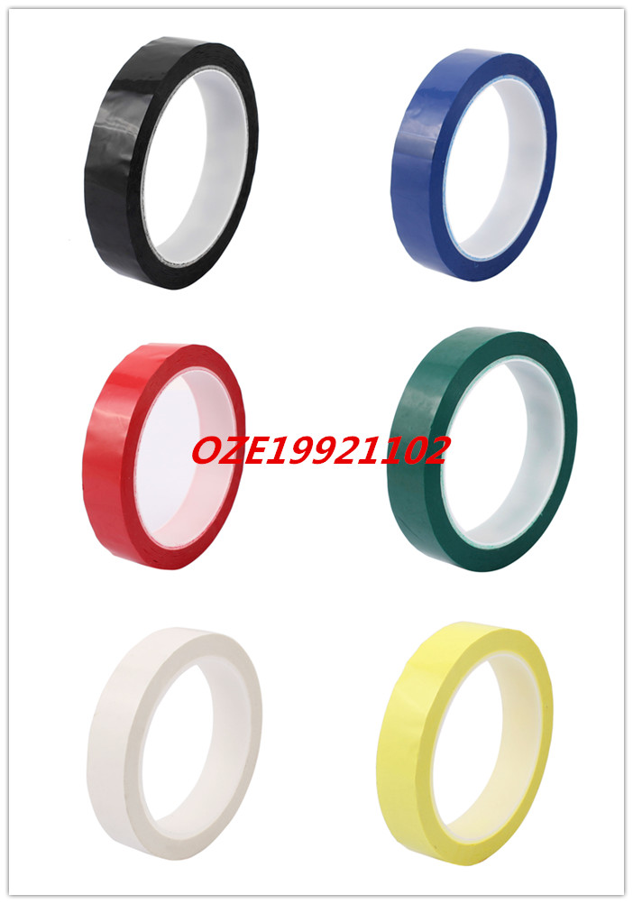 1pcs 20mm Single Sided Strong Self Adhesive Mylar Tape 50M Length Retardant 2pcs 2 5x 1cm single sided self adhesive shockproof sponge foam tape 2m length