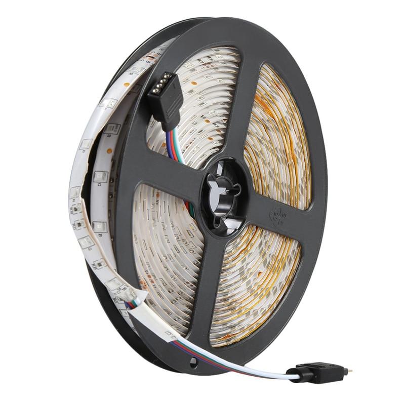 300leds 3528 Smd Rgb Led Light Strip + 44 Key Ir Remote Controller Non Waterproof Dc12v 60leds Flexible Lighting Ribbon Tape