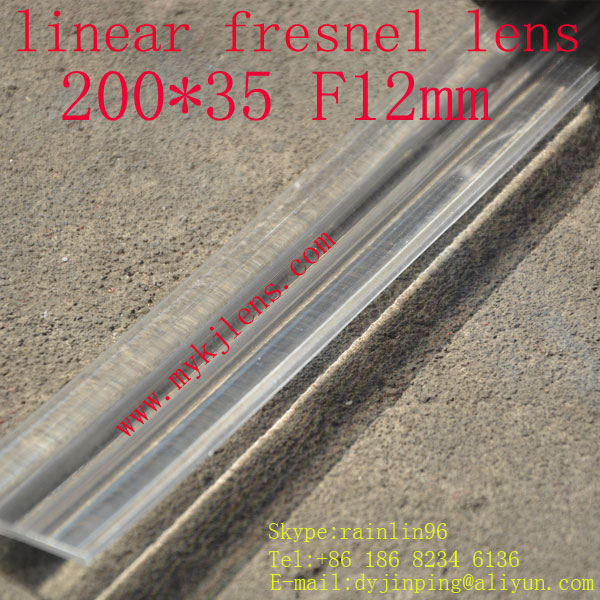 200*35mmF12mm linear fresnel lens for solar energy free shipping, focal is a line,small focal length free shipping 400 300 f600 fresnel lens for diy projector condenser lens supports custom