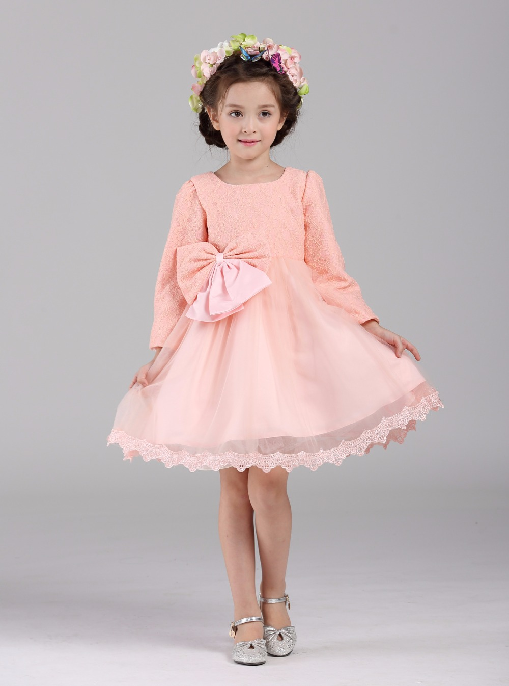 Mind Dresses From Mor Autumn Long Sleeve Children Girls Dresses Communion Autumn Long Sleeve Children Girls Dresses Communion Dressesfor Girls Lace Kids Dresses wedding dress Long Sleeve Dresses