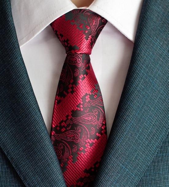 kuuma paisley solmio miesten 100% silkki solmiot suunnittelijoiden - Vaatetustarvikkeet - Valokuva 2